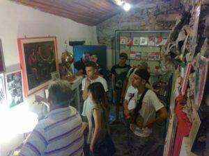 L'incontro con l'ANPI al Museo della resistenza di Arzene