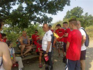 La visita dei volontari al Casone dei Partigiani