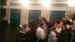 3 - I preparativi prima dello spettacolo (Timisoara)