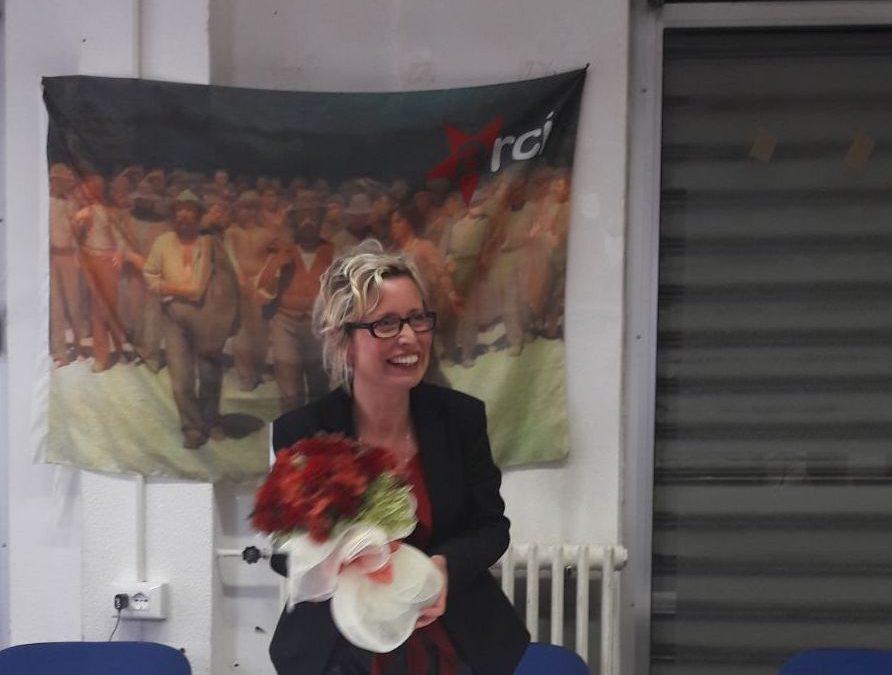 Stefania Novelli è stata eletta presidente dell'Arci della Spezia. A lei, al nuovo ufficio di presidenza e al consiglio direttivo spezzino i nostri migliori auguri di buon lavoro!