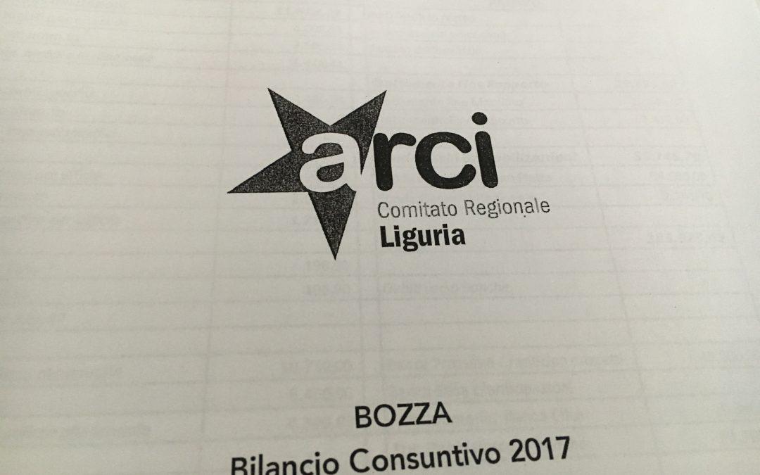 Approvato il bilancio consuntivo 2017 di Arci Liguria. Un altro passo decisamente positivo per l'Associazione.