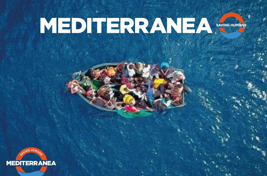 Mediterranea, una nave italiana nel mediterraneo per un'azione di monitoraggio e denuncia