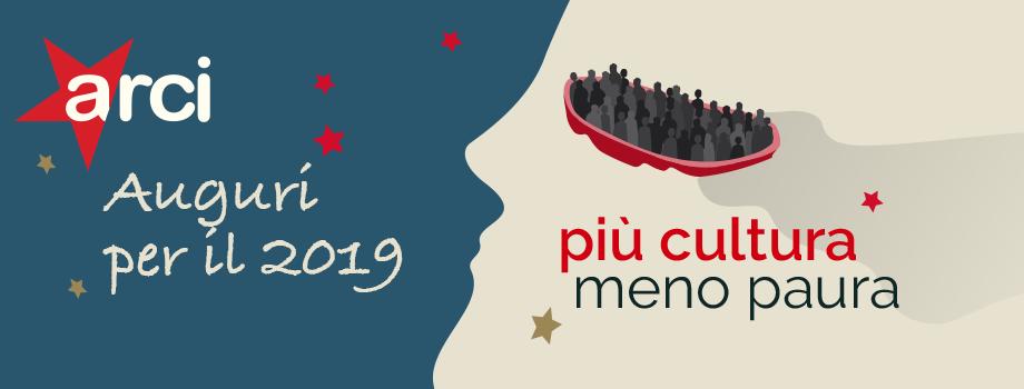 Buon anno nuovo! Gli uffici di Arci Liguria riapriranno lunedì 7 gennaio 2019. A tutte e tutti i nostri migliori auguri!