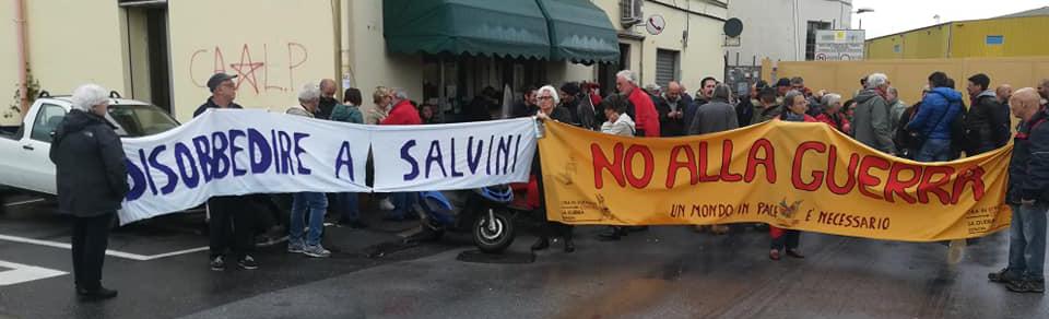 ARCI: un'ottima notizia dalla Liguria, i nostri porti sono chiusi alla guerra!