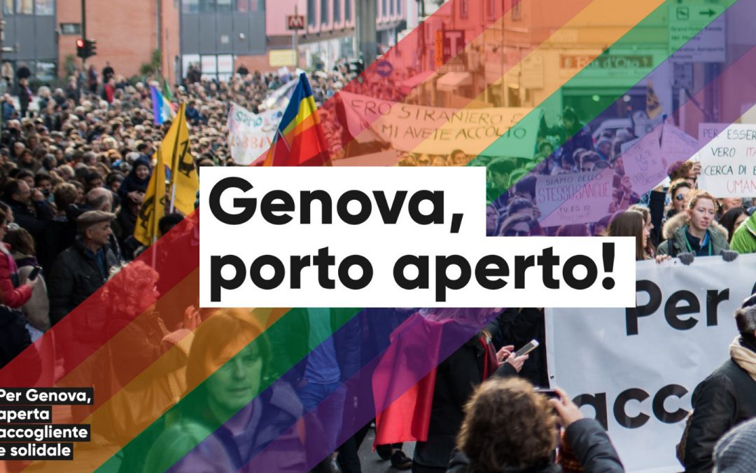 Genova porto aperto!