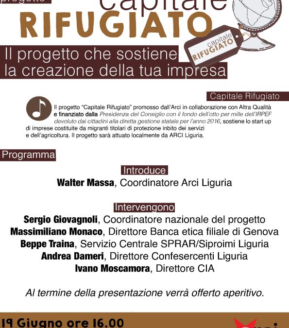 Capitale Rifugiato – presentazione del progetto!