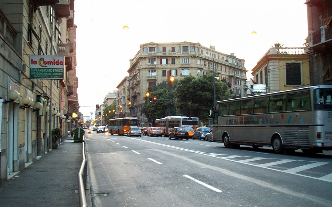 CORNIGLIANO ON THE STREET