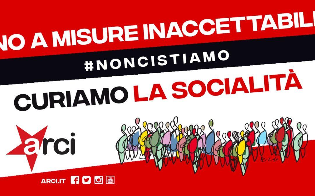 Non ci stiamo. Domani giornata di mobilitazione nazionale Arci. Anche in Liguria