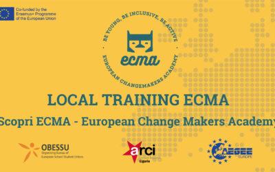 Scopri ECMA – European Change Makers Academy