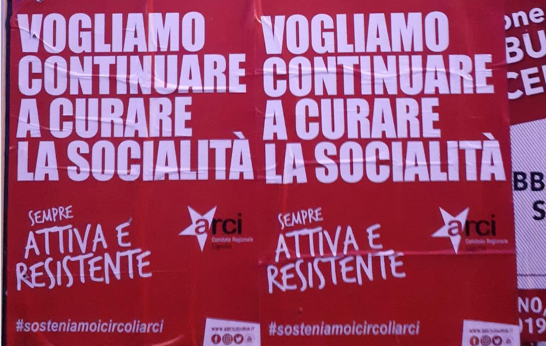 16 Marzo presidio sotto la Regione Liguria