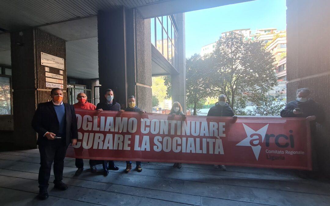 ARCI Liguria incontra la Regione Liguria su ristori e vaccinazione