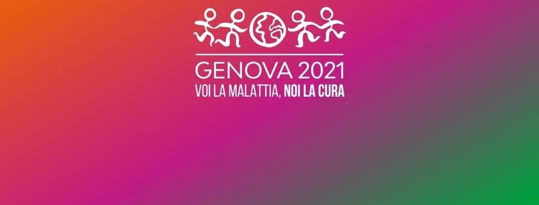 Genova 2021: voi la malattia, noi la cura