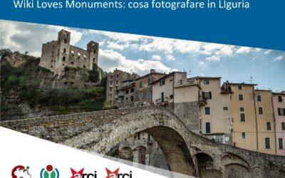 Wiki Loves Monuments: cosa si può fotografare in Liguria?